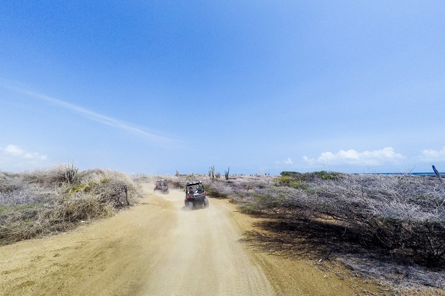 ATV tour Curacao
