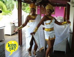 Carnavals kostuums Curacao