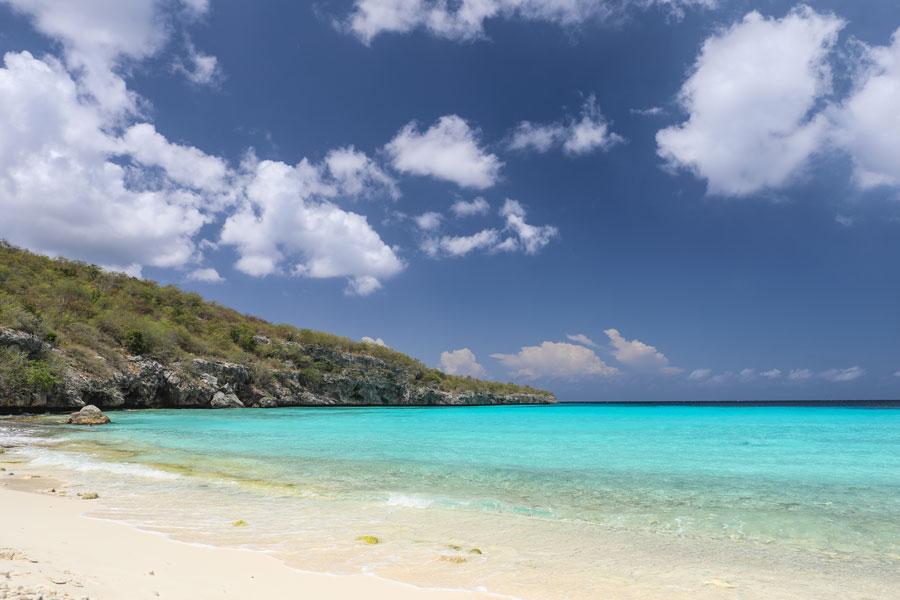 Cas Abou strand Curacao