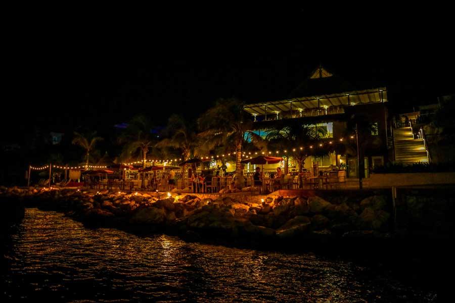 Dineren bij Karakter in Curacao