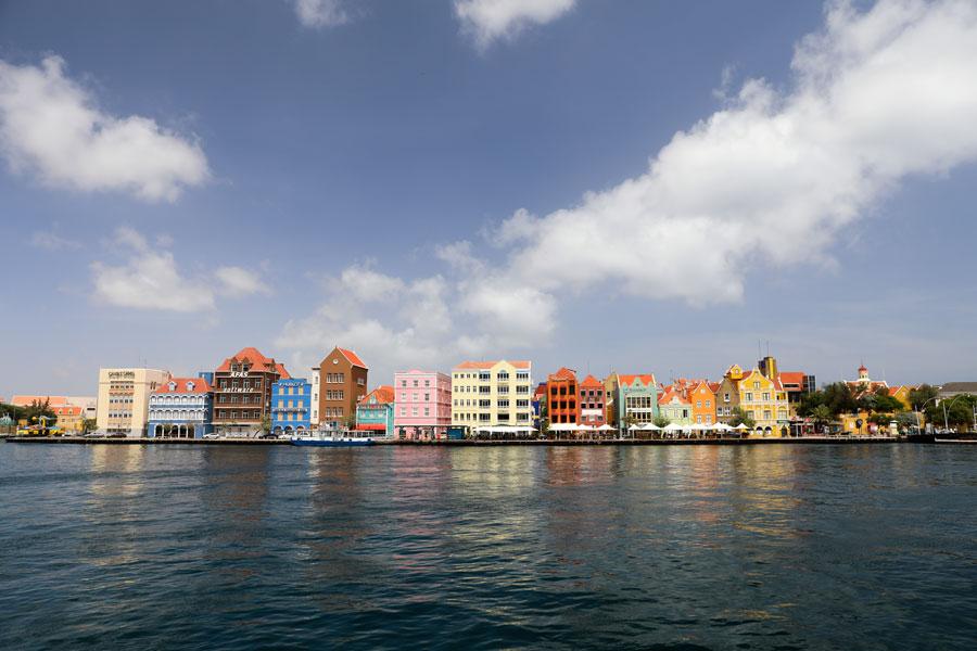 Handelskade Historisch Willemstad in Curacao