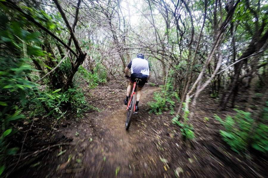 Mountain bike trails Curacao