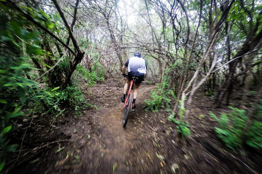 Mountain bike trails Curacao