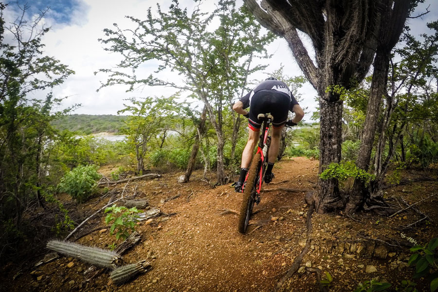 Mountain bike trail Jan Thiel Curacao