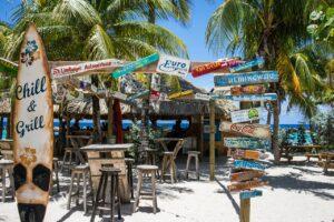 Beach Bar Curacao, Chill, strandbar