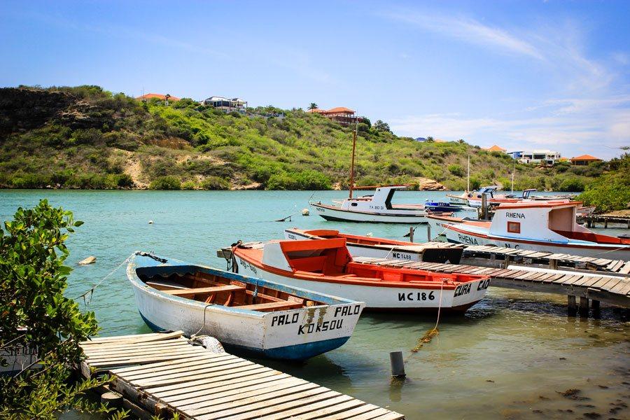 Visite en vis op Curacao blijven 3 dagen fris